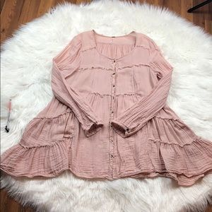 Free People Cotton Top